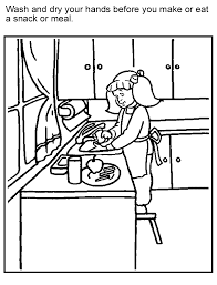 Small Picture Stunning Food Safety Coloring Pages Photos New Printable