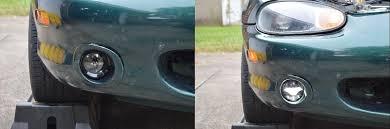 1999 Mazda Miata Fog Light Replacement How To Retro Ford Style Led Fog Lights On An 1999 2000 Miata