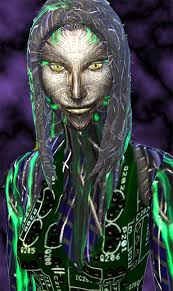 Mod The Sims: SHODAN from System Shock SCI FI sims model by Esmeralda •  Sims 4 Downloads
