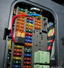 car electronic device (radar detector) hard wire molly's How To Add A New Circuit To A Fuse Box circuit 2 fuse panel how to add a new circuit to a car fuse box