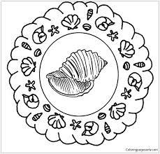 Kleurplaat Mandala Zomer 2 Coloring Page Free Coloring Pages Online