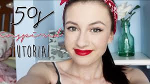 50s inspired makeup tutorial ohemgeeitsmaya