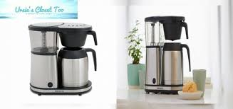 bonavita connoisseur 8 cup one touch coffee maker featuring hanging filter