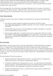 Edd Benefits Chart Managing Unemployment Insurance Costs Pdf Free Download