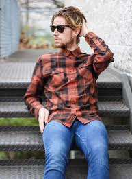 orange ya plaid the kentucky gent the kentucky gent in the joey wesc plaid shirt topman jeans kenneth cole detailed