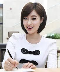 por korean short hairstyles for