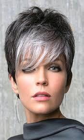 Redenen Waarom Kapsels Kort Grijs Haar Kapsels Halflang Haar