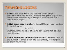 Astm E 112 Grain Size Measuring Methods Full Standard Mecanical
