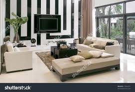 Modern Chairs Living Room Modern Houselivingroom Modern Furniture Stock Photo 12354727