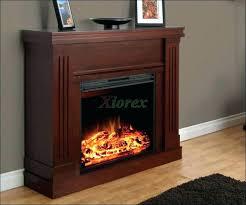 ventless electric fireplace corner