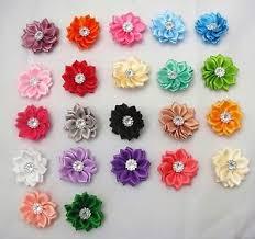 Paper Ribbon Flower Satin Ribbon Flowers 5pcs 10pcs Knitting Sewing Crafts Ebay