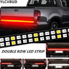 "YLCVBUD <b>60"" LED</b> Truck Tailgate <b>Lights Bar</b> Pickup <b>Flexible Strip</b>"