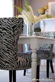 i have 4 yards of upholstery fabric very similar to this i m loving how it looks on these chairs