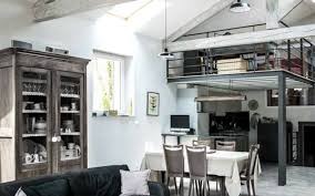 Loft Rustic With Also