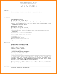 Resume For Child Care Teacher Assistant Resume Example