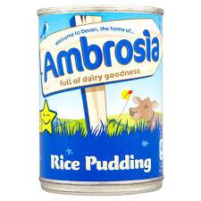 Ambrosia Rice Pudding 400g Custard Ambrosia Custard