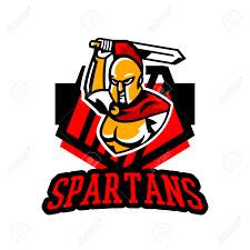 Greek Hoplite Shield Designs Emblem Logo Badge Spartan With A Sword Ancient Greek Warrior