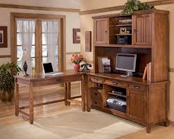 home office corner desks. Cross Island - Medium Brown Home Office Corner Table Desks