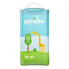 Трусики <b>LOVULAR giraffe</b> (ЛОВУЛАР жирафе) XL (12-17 кг.) 46 шт ...