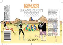 Evil Twin Beavertown XXX 22oz Bine Vine Bottle Shop