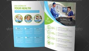 Healthcare Brochure Gorgeous Medical Pamphlet Template Engneeuforicco