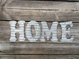 galvanized steel wall decor galvanized metal letters home industrial wall decor kitchen living room decoration corrugated