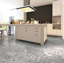modern kitchen floor tiles eclectic patterned kitchen floor tile design in a modern kitchen with white
