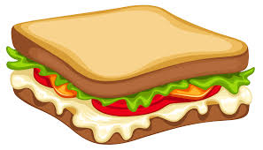 sandwich clipart.  Clipart Sandwich PNG Clipart Vector Image To Library