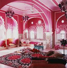 Decorating: Best Royal Moroccan Decor For Living Room With Pink Color Theme  - Moroccan Modern