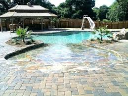fiberglass beach entry pool beach entry fiberglass pool fiberglass pools zero entry pool 0 beach entry
