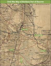 civil war map of northern part of hanover ashland museum Ashland Map civil war map of northern hanover county ashland maplewood