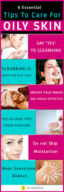 6 essential steps to take care for oily skin