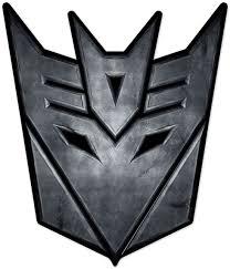 Aufkleber Transformers Decepticon Logo | WebWandtattoo.com