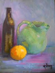 contemporary artists of florida small still life daily painting small oil painting
