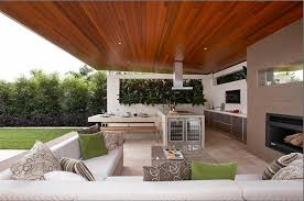 Kitchens:Contemporary Outdoor Kitchen With White Kitchen Counter Also Small  Kithen Island With Stools Minimalist