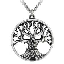 gothik tree of and life pendant in pewter at mystic convergence metaphysical supplies metaphysical