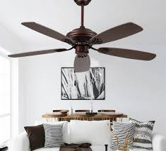 contemporary ceiling fans without lights
