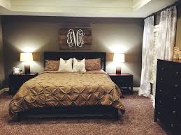 Master bedroom wall decor Husband Wife Wall Pinterest Bedroom Wall Decor Neutral Bedroom With Pallet Monogram For Our Home Within Master Bedroom Wall Decor Renovation Pinterest Bedroom Wall Decor Thesynergistsorg Pinterest Bedroom Wall Decor Neutral Bedroom With Pallet Monogram