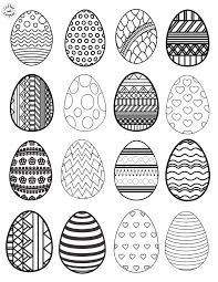 You know all advantages of coloring pages. Paper Plate Easter Craft With Easter Egg Coloring Page For Kids