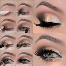 make fashion tutorial best simple gold natural and up makeup pak eye easy