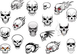 Or giving up of a particular practice or outlook. Skull Art Designs Skulls Drawing Evil Skull Tattoo Simple Skull