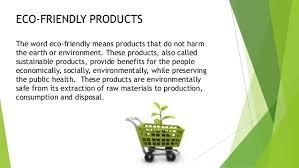 eco friendly benefits eco friendly
