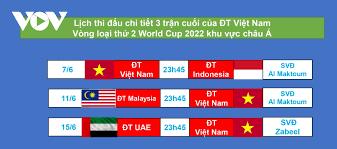 Đội tuyển malaysia chuẩn bị cho loạt trận vòng loại world cup 2022 khu vực châu á tại uae bằng 2 thất bại. Lịch Thi Ä'ấu Chinh Thức Của Ä't Việt Nam ở Vong Loại World Cup 2022 Khu Vá»±c Chau A Vov Vn