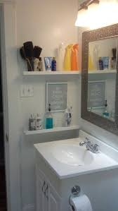 elegant ikea glass bathroom shelf 10 innovative and excellent diy ideas for the little bathroom 4