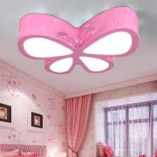 girls room lighting. modern butterfly ceiling lamp e27 bulb children bedroom flush mount light lovely boy girl living room cartoon christmas lightsin lights from girls lighting a
