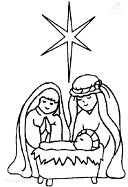 Christmas Stable Drawing Free Download Best Christmas Stable