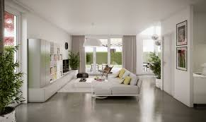 Modern bright living room Bright Orange Bright Living Room On The Ground Floor Adorable Home Modern Bright Interior Adorable Home
