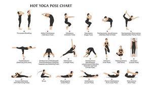 Basic Yoga Poses Chart 26 Bikram Yoga Poses Chart Anotherhackedlife Com