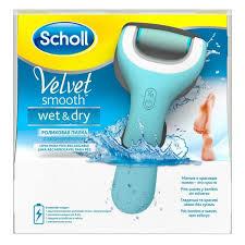 <b>Scholl</b> (шолл) пилка электрическая роликовая водонепрон с аккум.