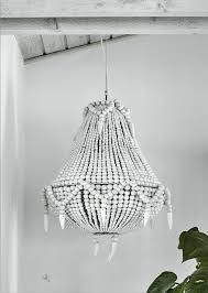 beaded wooden chandelier in white regarding popular household black beaded chandelier decor